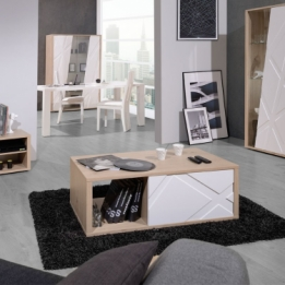 Trendy salontafel eiken wit