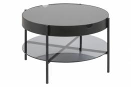 Glazen Bijzettafel Rond : Bijzettafel glas rond kubikoff ronde salontafel libra h cm