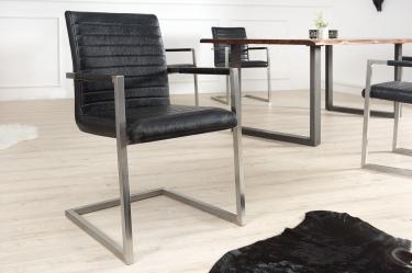 antiek zwarte vintage stoelen kopen   Aktie Wonen.nl