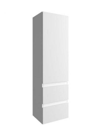 Badkamerkast Wit Hoogglans.Badkamerkast Met Legplanken Afm 185 X 30 X 30 Cm Badkamerkast Capri