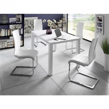 tafel wit hoogglans | Aktie Wonen.nl