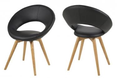 Moderne stoel aktie for Stoel houten poten